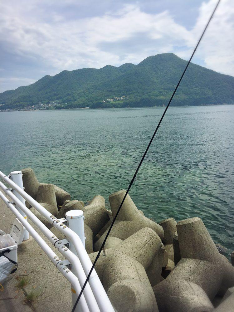 福山市内海町での海釣り
