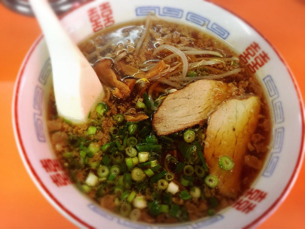 手城町の中華料理のお店のラーメン