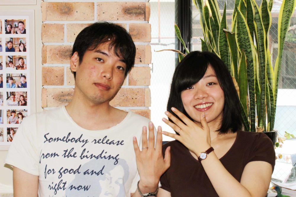 香川県高松市の伊藤様ご夫妻(結婚指輪をご購入)