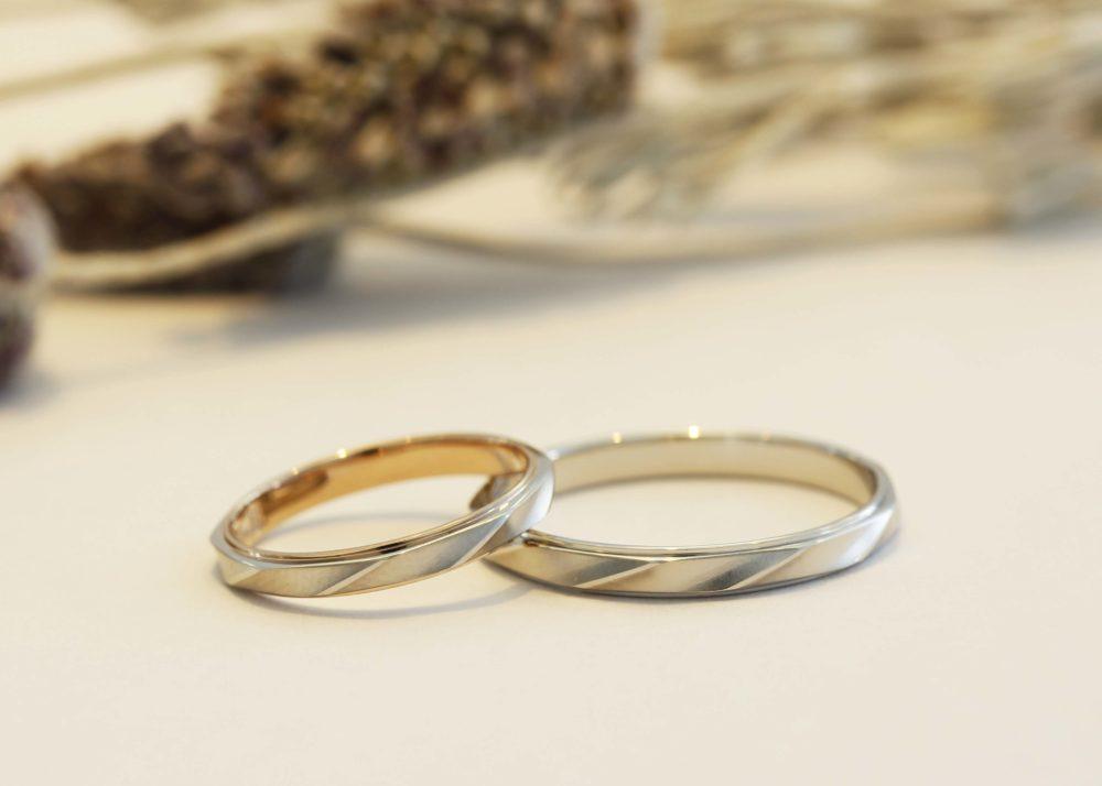エルドーセレクトブランドの結婚指輪「ユキコ・ハナイ」