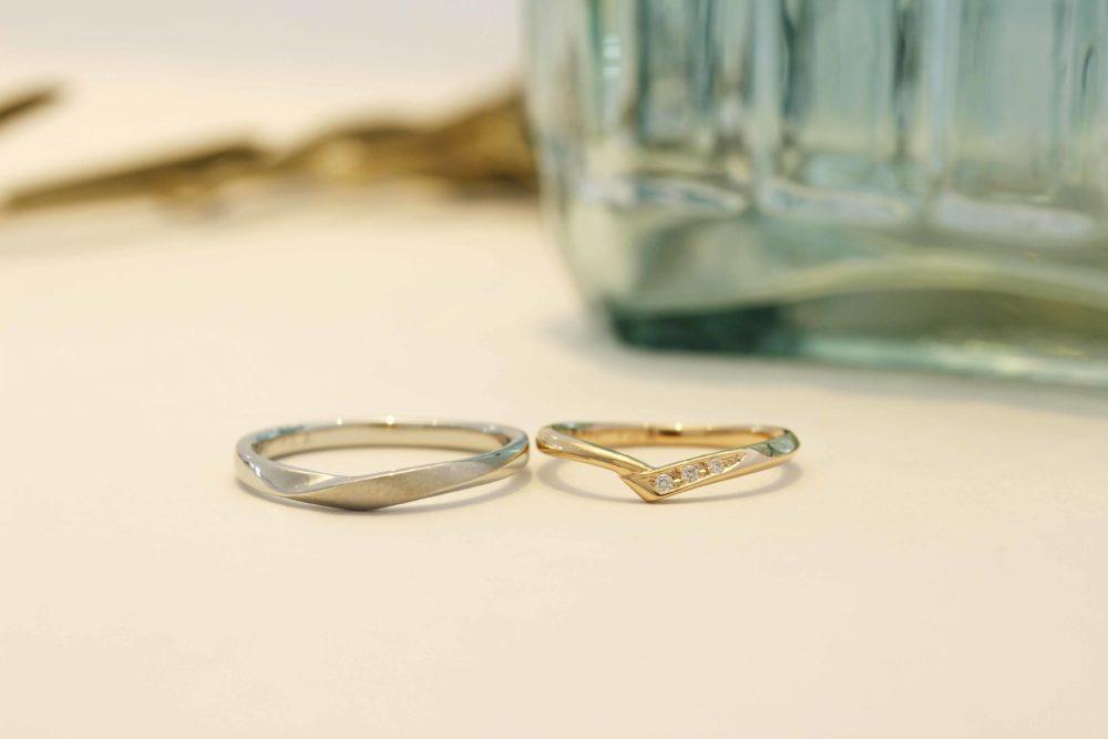 エルドーセレクトブランドの結婚指輪「ノクル」「ディアレスト」