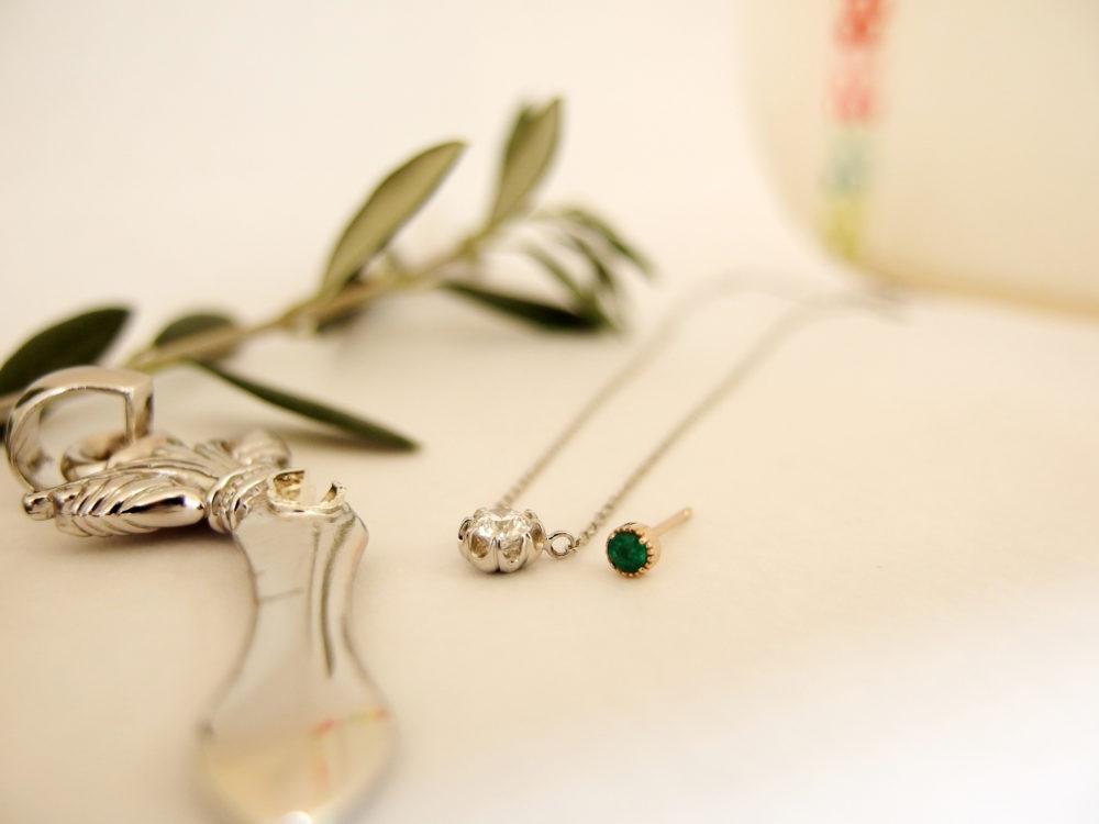 もう使わないダイヤのネックレスが婚約指輪代わりのネックレスに