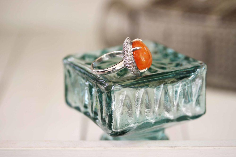 おばあちゃんのメキシコオパールの指輪をリフォーム