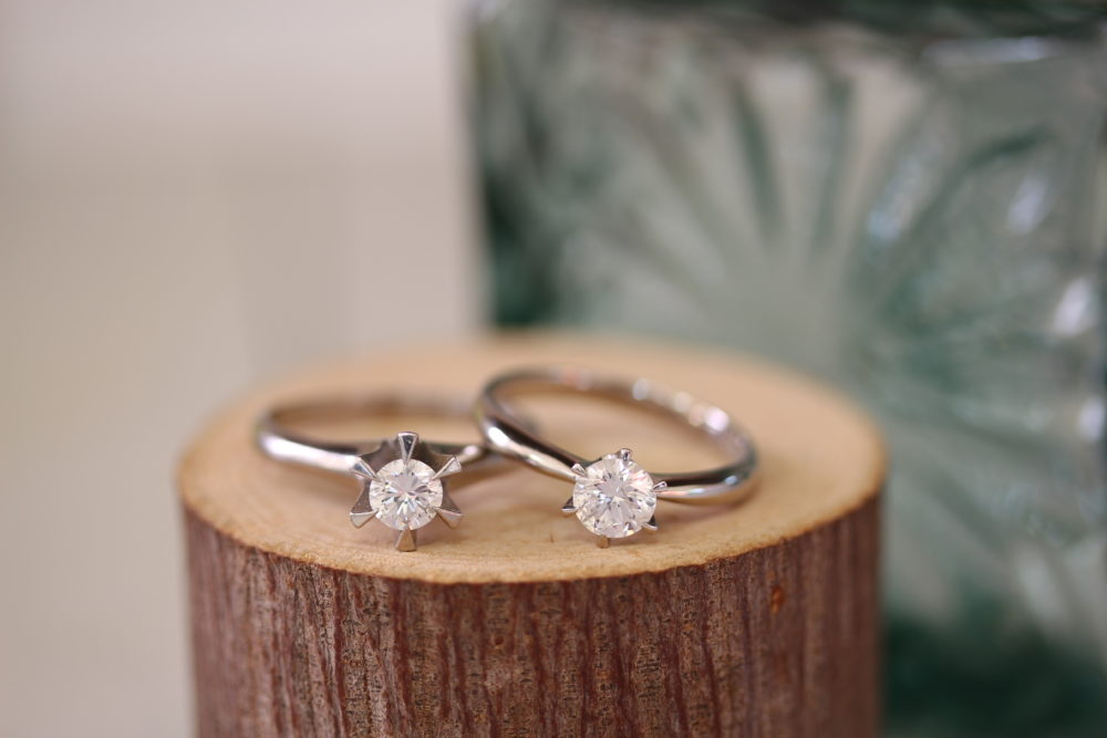 おばあちゃんとおかあさんの婚約指輪