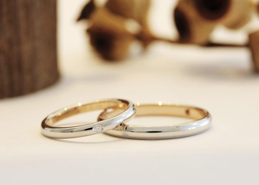 エルドーセレクトブランドの結婚指輪「ロゼ・マリアージュ」