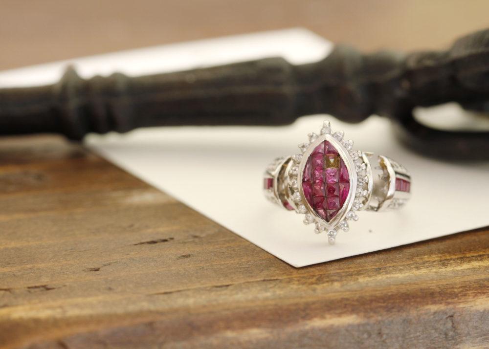 そして、もう1点、ルビーの指輪をお持ち込みくださいました。