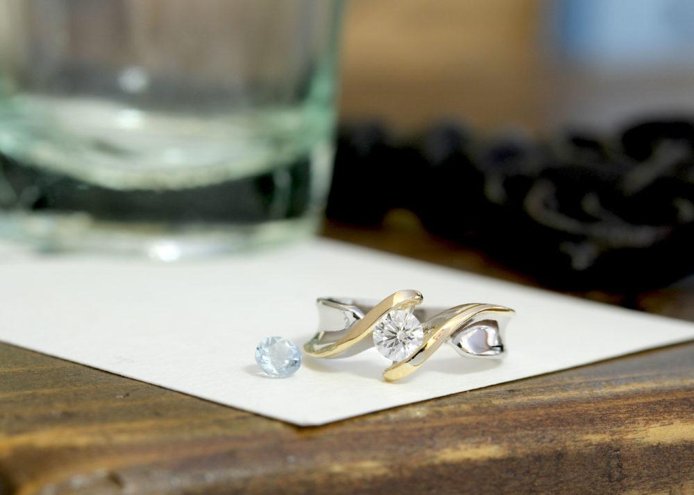 ダイヤモンドなどの石がなくなった時のリフォーム