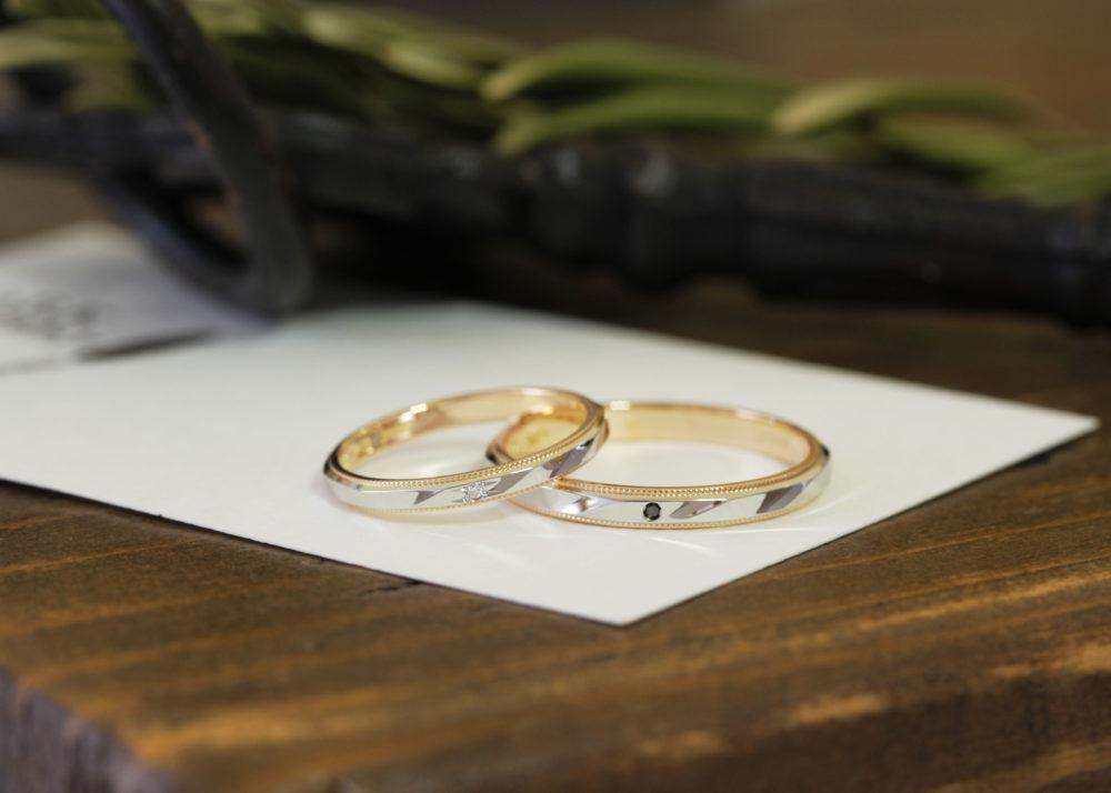 エルドーセレクトブランドの結婚指輪「ルノア」