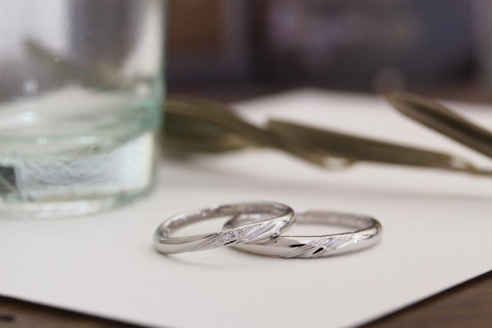 エルドーオリジナルの結婚指輪「メリア」