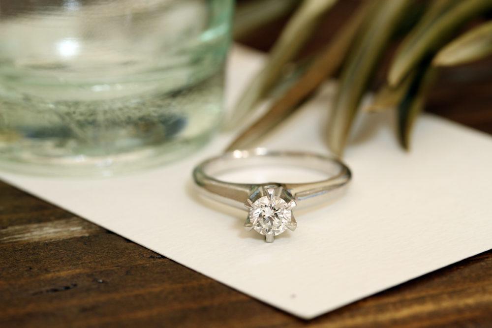 ご主人のお母さまの婚約指輪