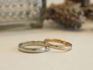エルドーセレクトブランドの結婚指輪「ツインズ・キューピッド」」