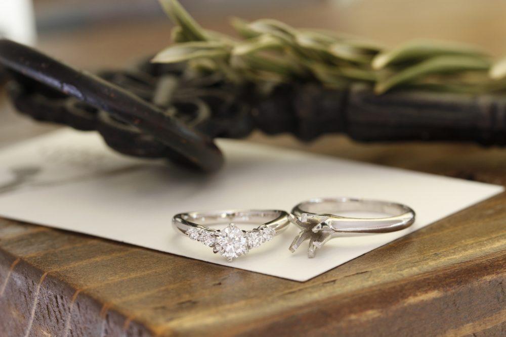 ご主人のお母さまから花嫁へ。婚約指輪のリフォーム。