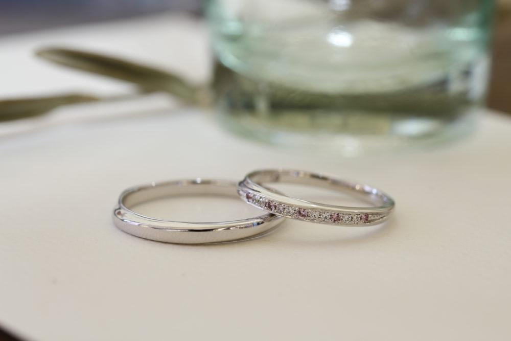 エルドーセレクトブランドの結婚指輪「ツインズ・キューピット」