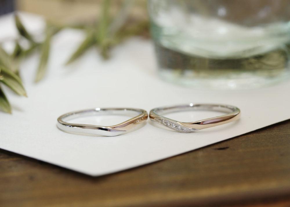 エルドーオリジナルの結婚指輪「ノクル」