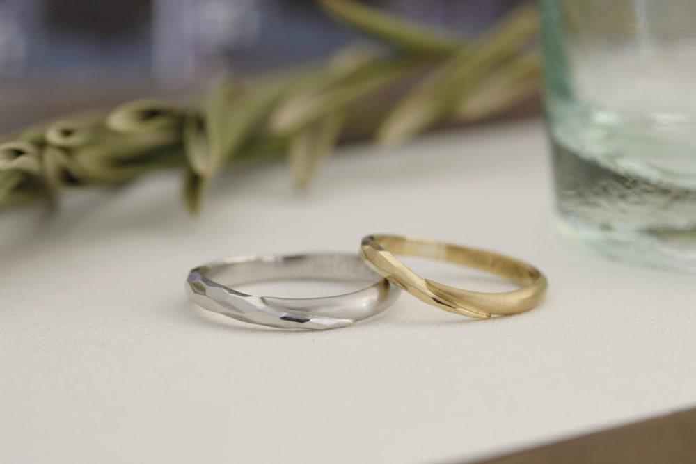 エルドーセレクトブランドの結婚指輪「カツキ」