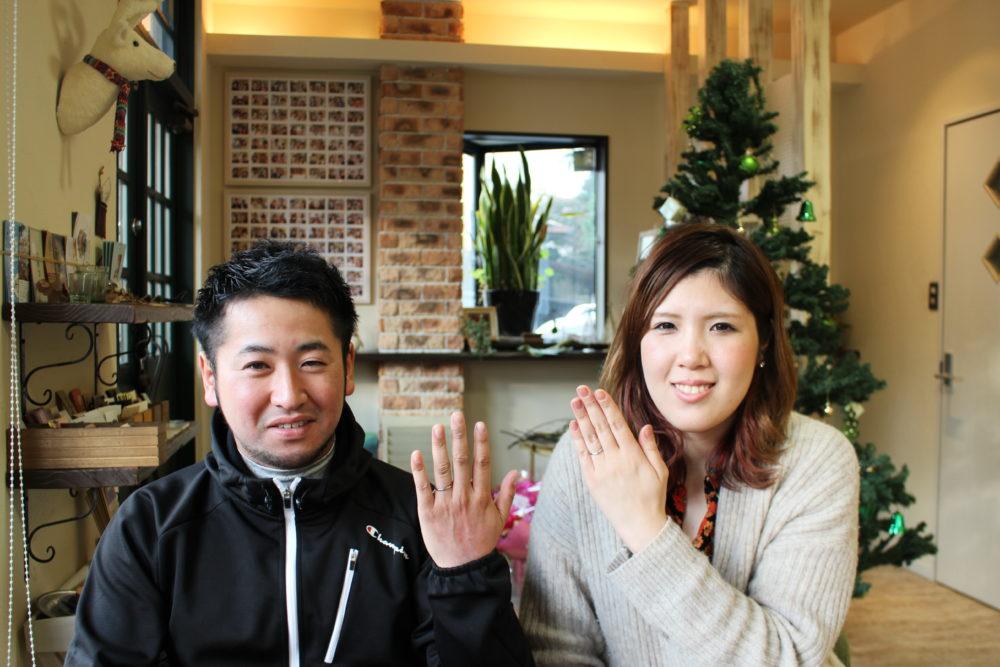 福山市草戸町の吉田様ご夫妻(結婚指輪をご購入)