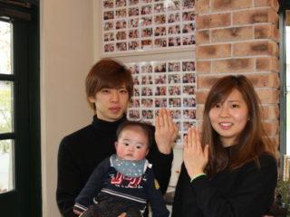 広島県尾道市の高渕様ご夫妻(結婚指輪をご購入)