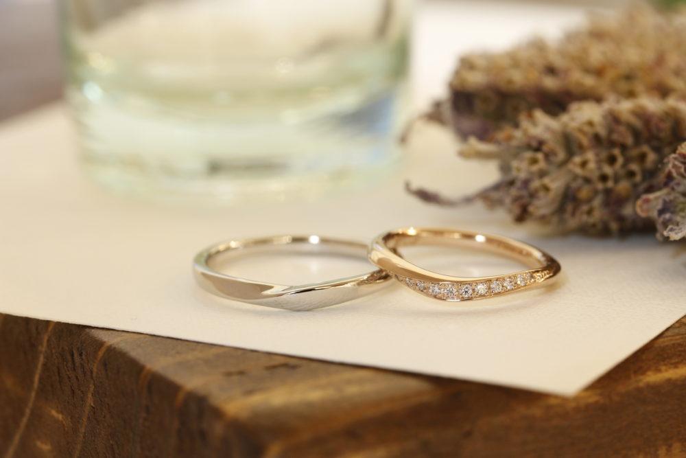 エルドーセレクトブランドの結婚指輪「サムシング・ブルー」