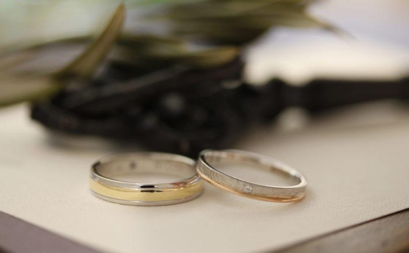 エルドーセレクトブランドの結婚指輪「ツインズ・キューピッド」