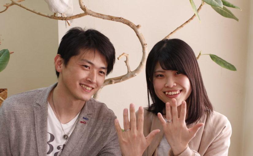 広島県尾道市の三浦様ご夫妻(結婚指輪をご購入)