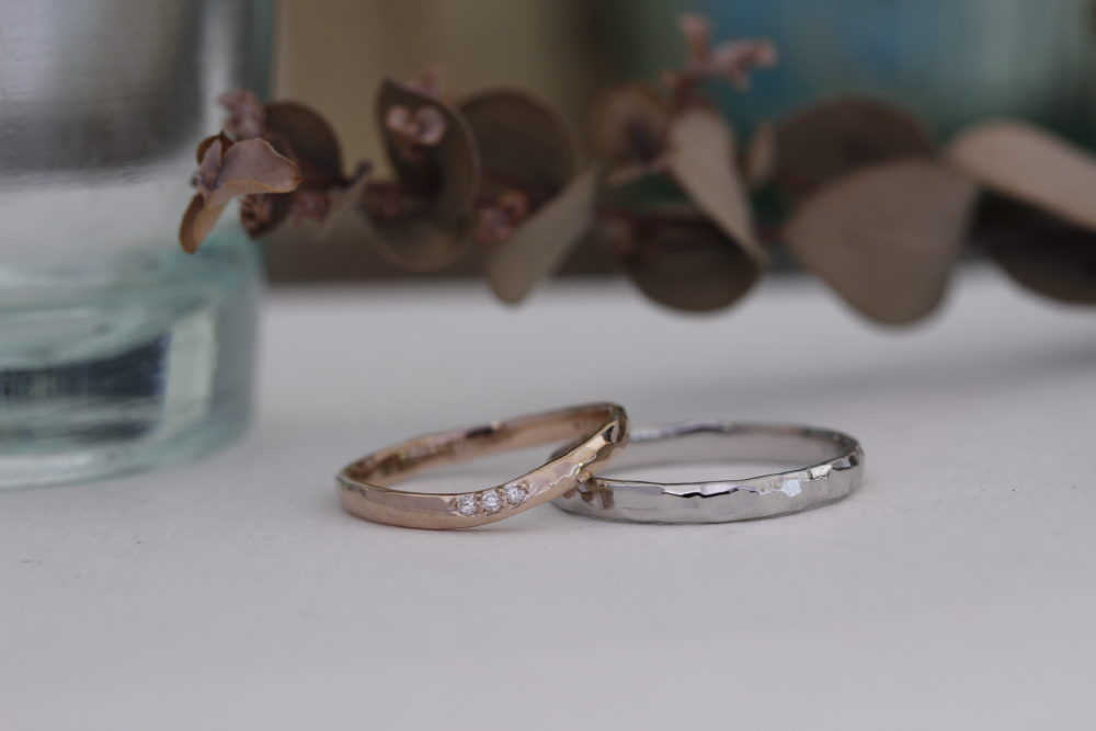 エルドーオリジナルの結婚指輪「シュシュ」
