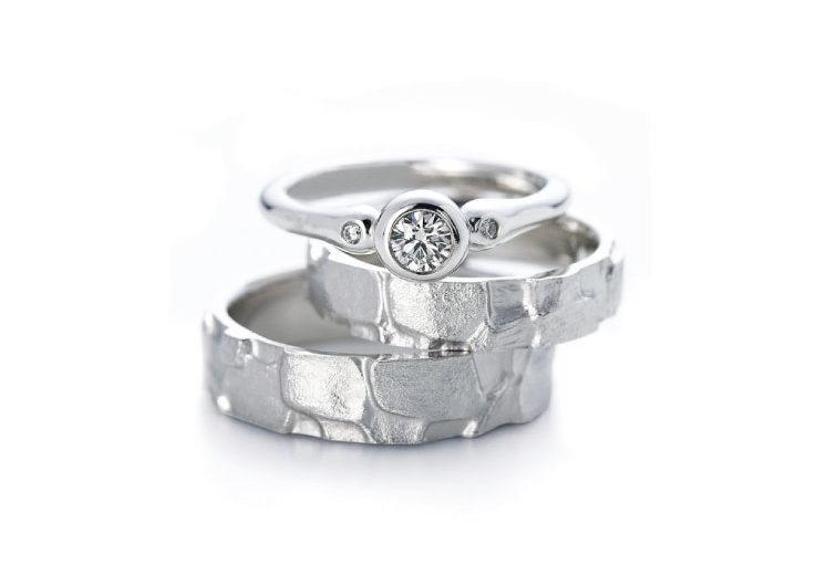 指輪言葉があるエルドーセレクトブランドアフラックス/AFFLUX『ラグーン/穏やかな愛』