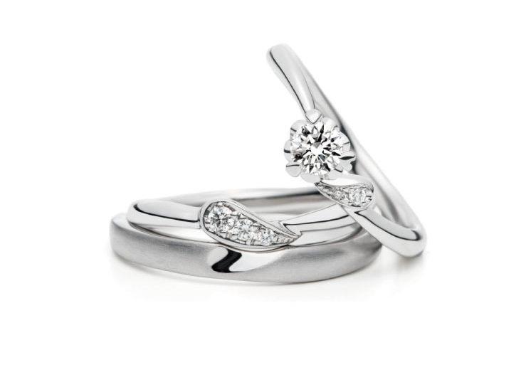 ハートモチーフの指輪言葉があるエルドーセレクトブランドアフラックス/AFFLUX『カシュカシュ/まっすぐな愛』