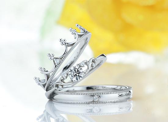 王冠デザインのエルドーセレクトブランドディアレスト/DEEAREST『ジョリ』