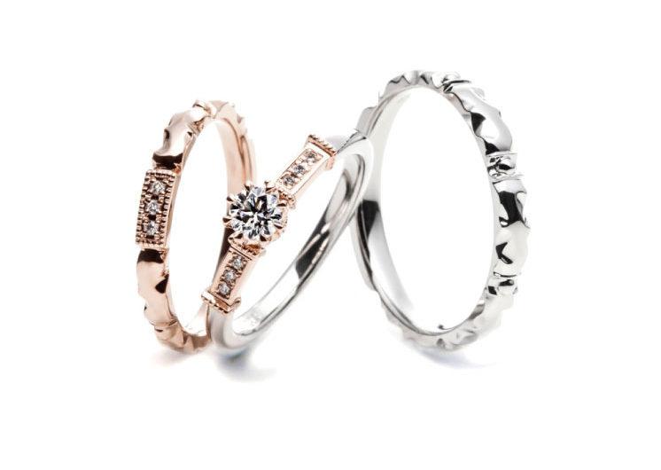扉モチーフの指輪言葉があるエルドーセレクトブランドアフラックス/AFFLUX『ポルト/幸せの入り口』