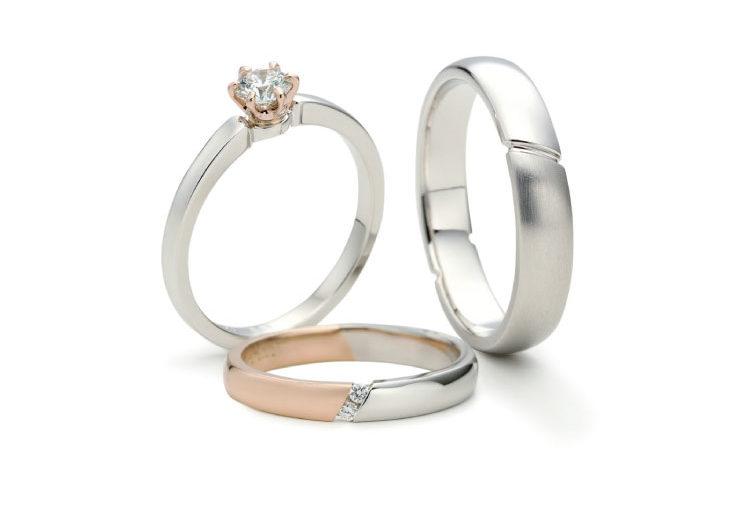 手と手をつないだモチーフの指輪言葉があるエルドーセレクトブランドアフラックス/AFFLUX『ハニー/可愛いあなた』