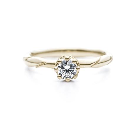 月桂樹モチーフの指輪言葉のあるエルドーセレクトブランドアフラックス/AFFLUX『ローレル/きみを讃える』