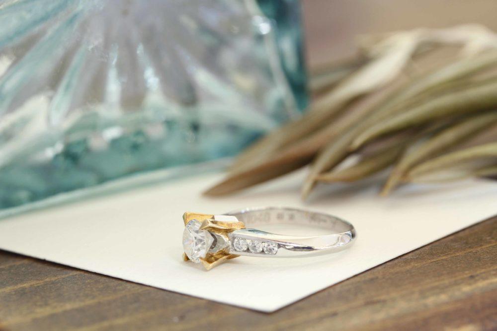 思い出の婚約指輪を形を変えて