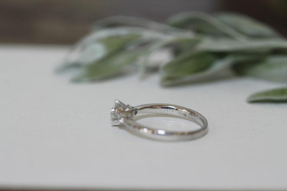 婚約指輪のダイヤを使ってお嬢様の厄年で身につけれるネックレスへと