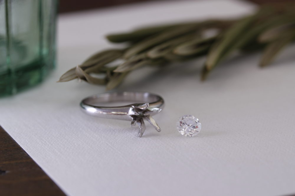 婚約指輪のリフォーム