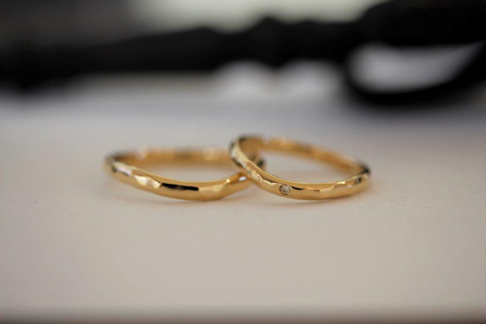 エルドーオリジナルの結婚指輪「トワエトワ」