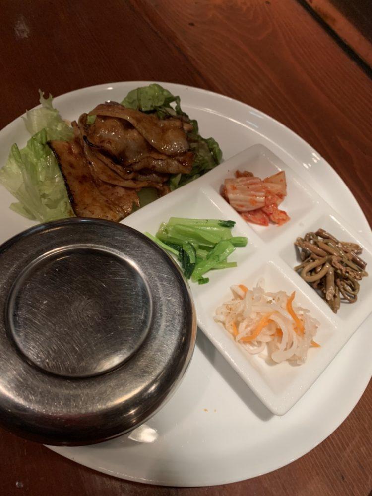 福山市 ランチ 焼き肉 韓国料理 チゲ鍋 キムチ